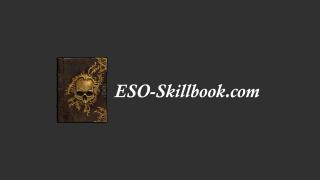 ESO Skillbook